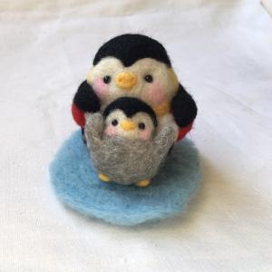 ■ ぷっくりペンギンの親子