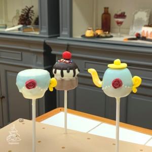 かわいいティーセット☆ケーキポップス認定講座2