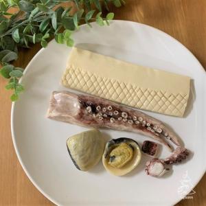 ねんどで冷凍食材サンプル