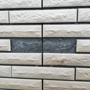 【不具合】外壁ハイドロテクトタイルが剥がれた!?自分でタイル貼り補修!