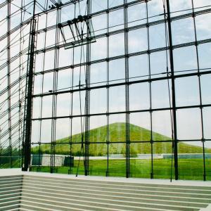 クリスタルボウル &ボーカルライブ in ガラスのピラミッド(モエレ沼公園)