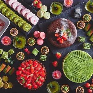 60種のスイーツ食べ放題!旬ないちごと抹茶のスイーツブッフェが開催!