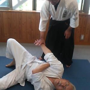 今日の稽古 2021/08/01 大東流合氣柔術 練心館 & 依田神社