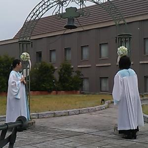 今日の稽古? 2019/06/02 結婚式 & 南相木村諏訪神社 & おみかの滝