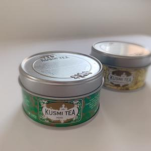 パリで買ったKUSMI TEAを。
