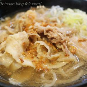 肉骨茶で蕎麦って @ 名代 富士そば 藤沢店
