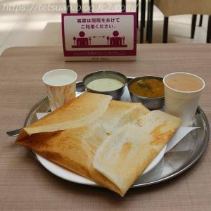 こちらも営業再開で @ 南インド・パキスタン料理 ANAS DOSA BIRYANI (アナス ドーサ ビリヤニ)