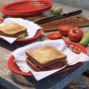 ARK Modern Food Pack I – Sandwiches サンドイッチセット