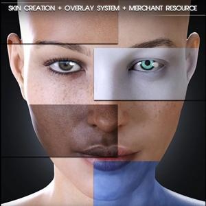 Skin Builder 8 肌感変更ツール 肌の色、眉毛、まつ毛、血管…思いのまま