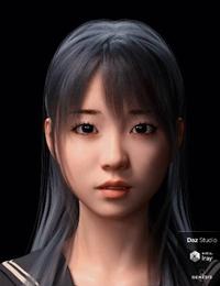 Sue Character and Hair for Genesis 8 Female  大島優子似の美少女フィギュア