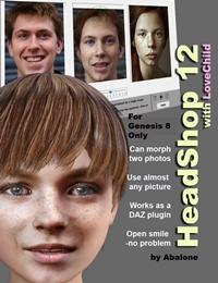 Headshop 12 顔2つを合成するLovechild機能搭載