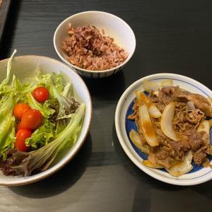 火曜の体重と休肝日の夕食