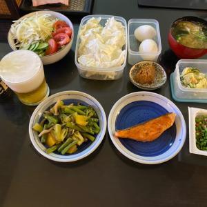 木曜の体重と食事と晩酌