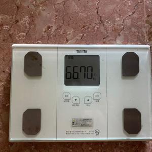 5ヵ月続けた体重記録をやめて1か月半後の体重が激増した理由