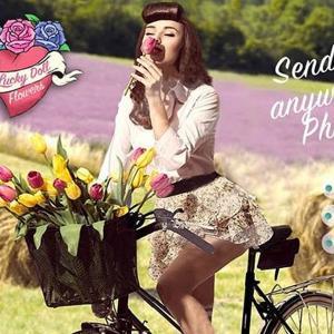 【フィリピン】フラワーデリバリーの利用方法について、女性に花を贈ろう!
