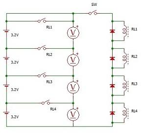 サブバッテリーをリチウム化したい(電圧計)