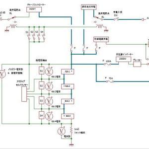 サブバッテリーをリチウム化したい(全体構成)