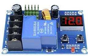 充電制御モジュールの電圧確認