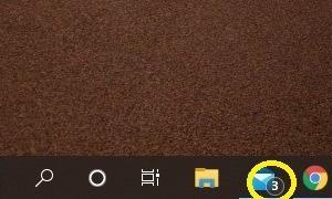 Windowsメールの新着通知が消えない
