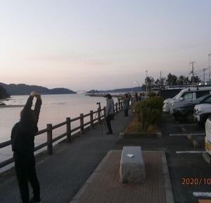 四国の旅2020(3日目;橋杭岩の日の出)