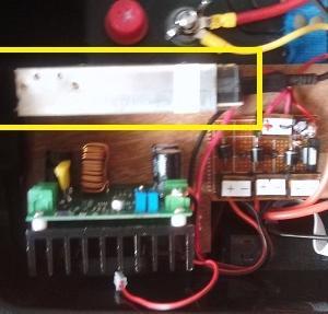 ポータブル電源を作ろう(8:温度センサー付き冷却ファン)