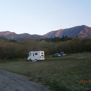 朝霧高原でキャンプ(3)