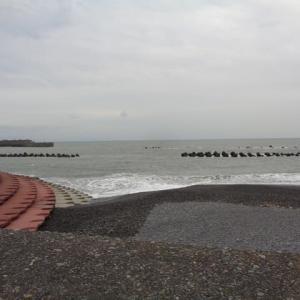 2019年10月24日PM16:12分頃の用宗海岸
