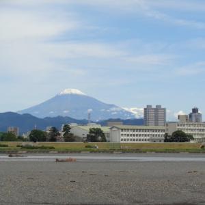 2019年10月26日AM10:43分頃の富士山