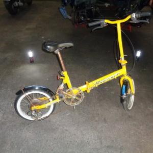 ムーン自転車 タイヤチューブ交換