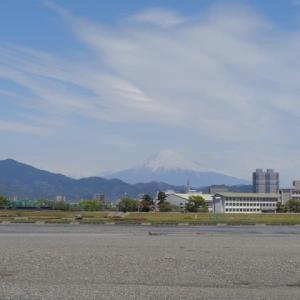 2020年4月22日PM12:00頃の富士山