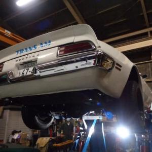 1973年 ポンテアック ファイヤーバード トランザム 455 整備と修理ー56