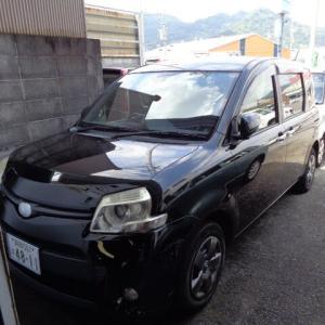 平成24年 トヨタ シエンタ フロントバンパー交換