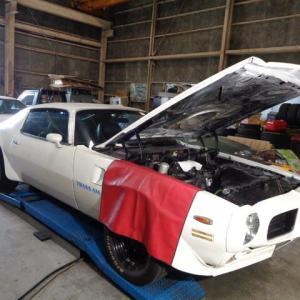 1973年 トランザム 455 エンジン異音修理ー3