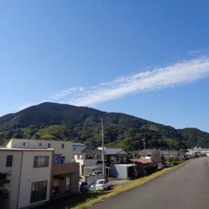 2020年 10月20日 PM12:56分頃の富士山