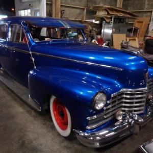 1946年 キャデラック フリートウッド シリーズ45 車検