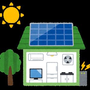 とある日の発電量と売電量(10月21日)(一条工務店のi-smart・i-cube)