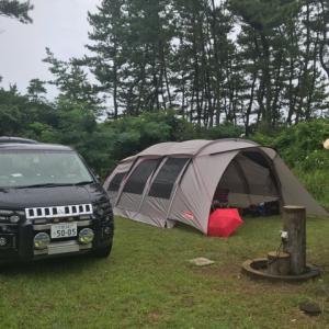 能登半島「能登リゾートエリア増穂浦」オートキャンプ場に行ってきました。