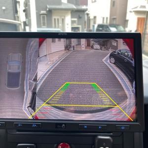 ATOTOのリアカメラ「AC-HD03LR 720P」を取付。キャリブレーションで仮想アラウンドビュー。