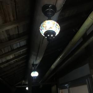 ランプが付いた