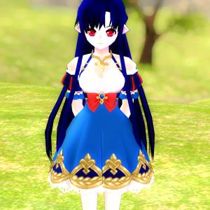 染色超迷子(白雪姫のドレス)