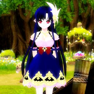 白雪姫の衣装のエモ