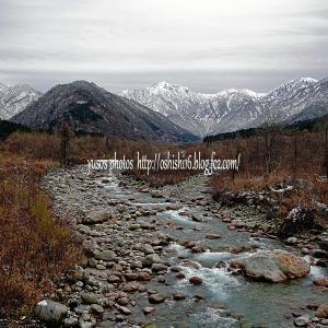 剣岳雪景色