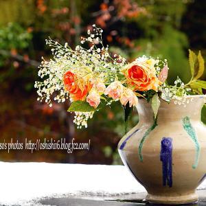 凍えた花瓶