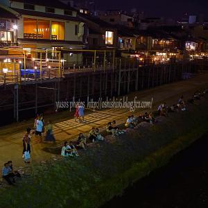 京都の夕涼み