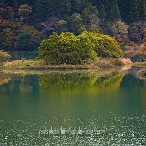続 秋山水鏡