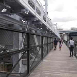 新スポットのすみだリバーウォークと東京ミズマチを子供とお散歩 すみだリバーウォーク編 電車好きにおすすめ