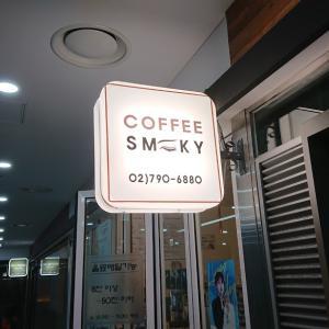 今回のソウルで行ったカフェ。ほとんどナム・ドヒョン目的。