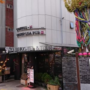 2019年11月韓国2回目 ⑨ ホテルは弘大のナビホステルです。