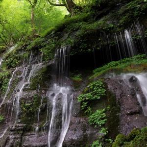 素簾の滝 2
