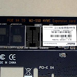 NVMe SSD購入